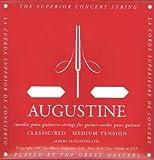 AUGUSTINE RED 4弦バラ弦単品×4本 クラシックギター弦 4弦のみのバラ弦です。