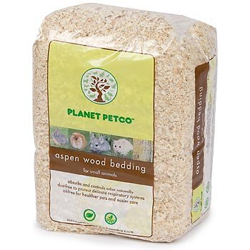 Planet Petco Aspen Wood Bedding for Small Animals, 2 cu feet, My Pet Supplies