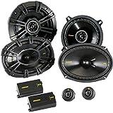 """Kicker for Dodge Ram Truck 1994-2011 Speaker Bundle - CS 6x9 Component Speakers, and CS 5.25"""" coaxial Speakers."""