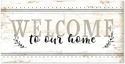 Welcome Rustic Farmhouse Style Wood product image