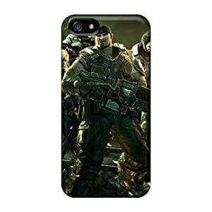 High Quality Mobile Cover For Iphone 5/5s With Unique Design HD Gears Of War 3 Image EricHowe