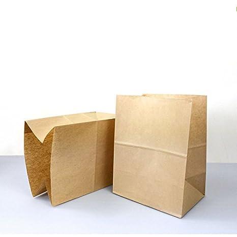 Bolsas de papel Kraft para tartas, postres, alimentos, bodas ...