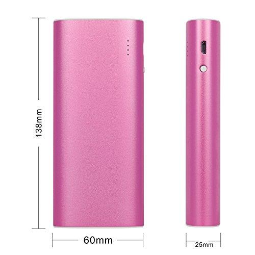 iProtect 13000mAh Power Bank Une batterie externe et chargeur pour votre Smartphone et autres appareils avec une sortie USB. Un câble USB est inclus dans la livraison, câble Apple iPhone en métallic p