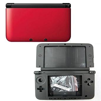 Carcasa Completa Roja Nintendo 3DS XL: Amazon.es: Videojuegos