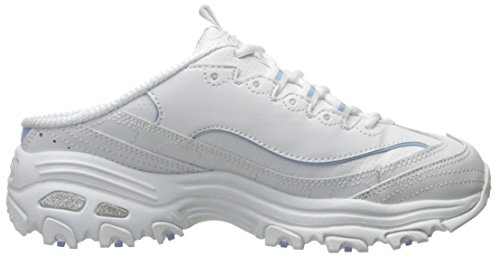 D'lites Sneaker Mule Skechers Light White Blue on Sport Slip Xwq15H
