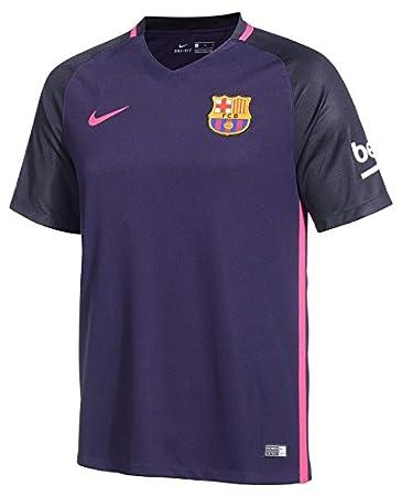 Trikot Nike FC Barcelona 2016-2017 Away (violett/schwarz, 128)