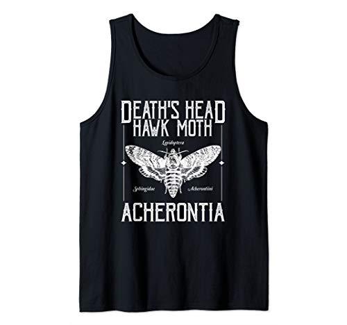 Death's Head Hawk Moth Tank - Tee Head Death