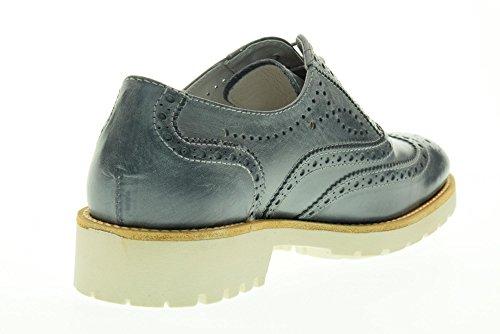 NERO GIARDINI Frauen niedrige inglesina P717191D / 205 Blau