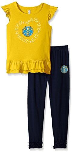 "NBA girls NBA Toddler ""Group Love"" Ruffle Shirt and Pant Set – DiZiSports Store"