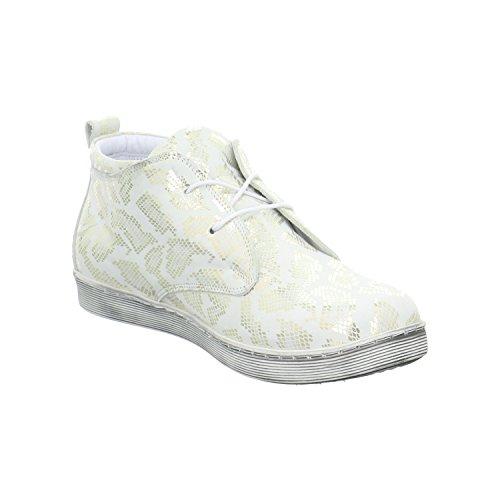 Andrea Conti 0343481001 - Botas de Piel para mujer Blanco