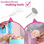Cake Decorating Kit Cupcake Decorating Kit - 68pcs Cookie Decorating Supplies and Cookie Decorating Kit with Piping Bags and Tips - Frosting Icing Tips Pastry Bags with Tips - Baking Decorating Kit 12 ✅ NEW CAKE DECORATING KIT: Looking for a fresh and stylish cake decorating kit? This icing piping set has every cake decorating tools for expert cake decoration all in one set and something new - Cake Decorating Storage Chest with piping tips Smart Holder! ✅ STYLISH CAKE DECORATING SUPPLIES: Anyone can create professional-looking cakes with these high-quality cake decorating supplies! This cupcake decorating kit includes 36 numbered stainless steel icing tips with Pattern Chart and Extra-Durable 10 pcs icing bags and 2 reusable piping bags. ✅ ICING PIPING SET FOR BEGINNERS: Our cookie decorating kit is designed   to   help   you   create   your   own   decorative   masterpieces   of   all   shapes and   sizes , no matter what your    skill   level may be.   No decorating experience needed!