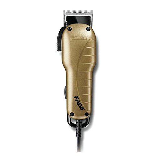 Andis Fade Hair Clipper with Adjustable Blade, Gold, Model US-1 (66245)
