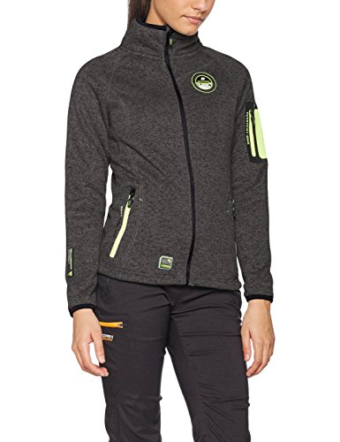 Geographical Norway Trapeze Lady, Chaqueta para Mujer gris (Dark Grey)