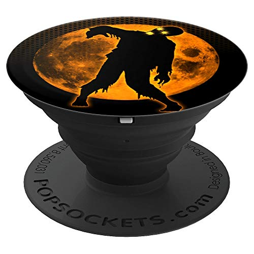 Funny Spooky & Scary Dead Walking Halloween Party Gift Idea - PopSockets Grip and Stand for Phones and Tablets ()