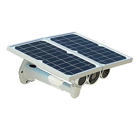 Cámara IP WIFI con paneles solares de exterior P2P Wifi Night Vision HD 720P: Amazon.es: Bricolaje y herramientas