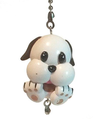 Emoji Ceiling Fan Pulls - Poo Emoji, Emoticon Decor, Gift Idea by Wooden Androyd Studio (Buddy Pup) ()