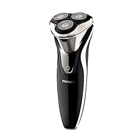 Phisco Electric Shaver Razor for Men 2 in 1 Beard Trimmer Wet Dry Waterproof Mens Rotary Shaver USB Quick Rechargeable Shaving Razor - Best Gift for Dad, Boyfriend ... - 41rdNpgqhxL - Phisco Electric Shaver Razor for Men 2 in 1 Beard Trimmer Wet Dry Waterproof Mens Rotary Shaver USB Quick Rechargeable Shaving Razor – Best Gift for Dad, Boyfriend …