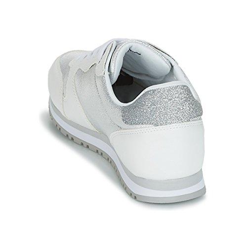 WHITE GLITTER COL Guess JOHNNY2 MOD SCARPE DS18GU05 RUNNING DONNA SNEAKER Glitter White xxS4f8
