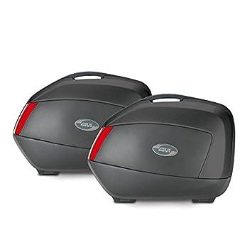 Juego de maletas laterales Suzuki GSR 600 06-11 Givi Monokey V35N negro 35 litro: Amazon.es: Coche y moto