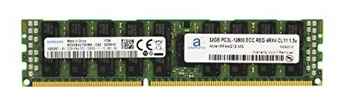 (Adamanta 32GB (1x32GB) Memory Upgrade Compatible for Late 2013 Apple Mac Pro Samsung Original DDR3 1600Mhz PC3-12800 ECC Registered 4Rx4 CL11 1.5v RAM DRAM)