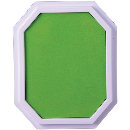 Green Extra Large Stamp Pad 7 1/4'