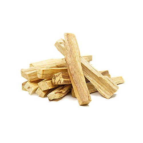 GloFX Organic Palo Santo Incense Sticks - 12 Pack - Chakra Meditation Cleansing Stress Relief - Sustainably Harvested Incense Burning Sticks