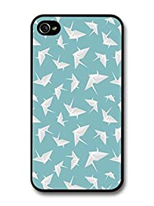 iphone covers Origami Paperfolding Swans Illustration Pattern case for Iphone 5c