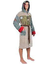 9b485727eb Star Wars Brown Green Boba Fett Armour Fleece Robe (One Size)