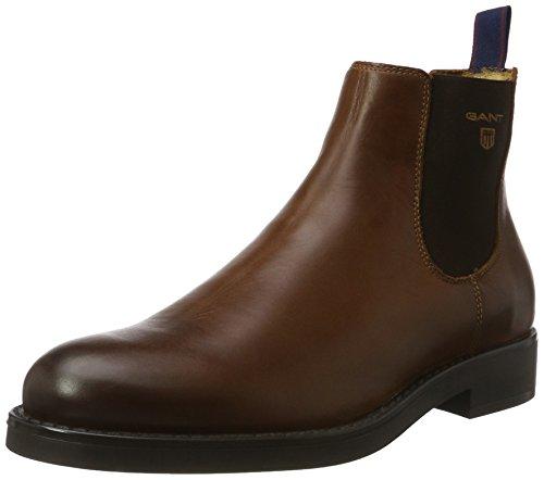 GANT Herren Oscar Chelsea Boots Braun (Cognac)