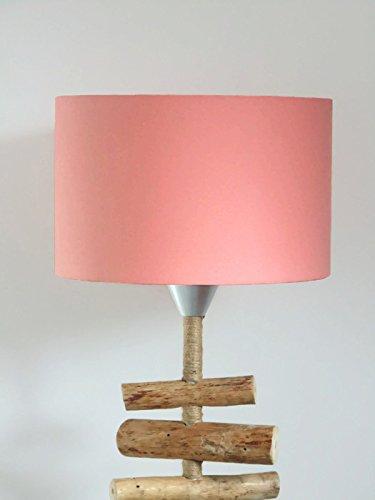 Pantalla de lámpara rosa - coral - pastel escandinavo ...