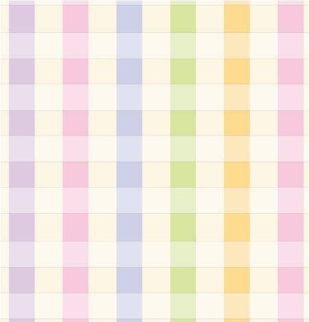 Pastel Plaid Gift Wrap Flat Sheet 24