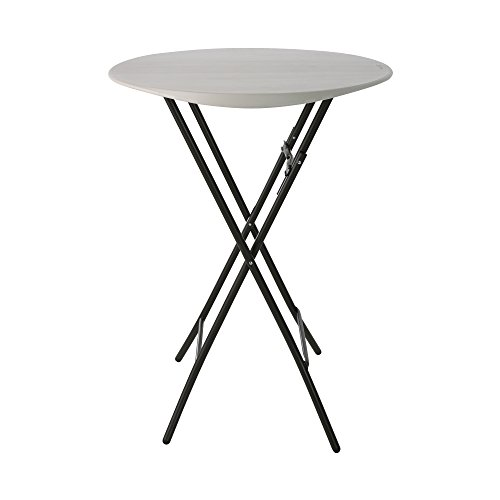 Lifetime Products 80362 Round Bistro Table 33 D x 43 H