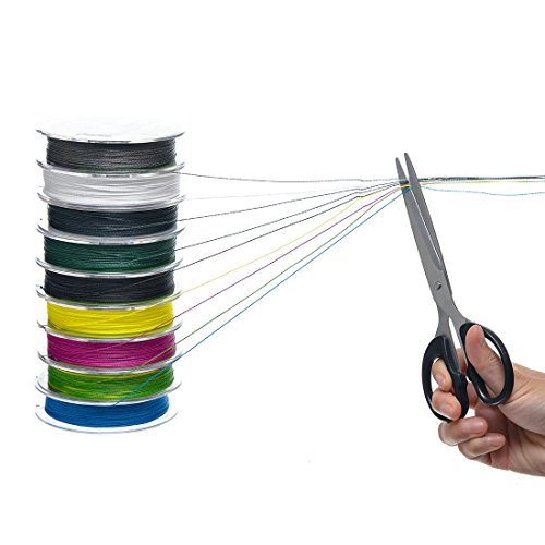 Free shipping fishingsir super strong braided fishing line for Black braided fishing line