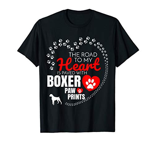Dogs Mens T-shirt Boxer (Boxer T Shirt Gift For Dog Boxer Owners)