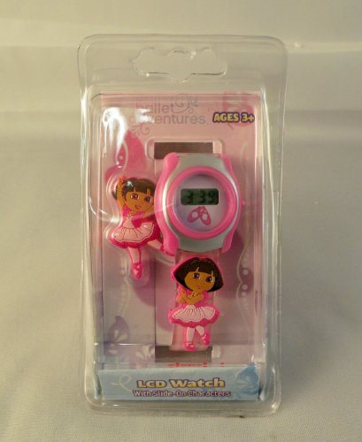 Dora the Explorer Child's LCD Watch Ballet Adventures (Dora The Explorer Costumes)