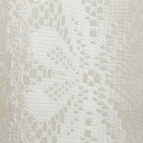 Linen Lorraine Home Fashions: Lorraine Home Fashions Hopewell Lace Window Shade, 58-Inch