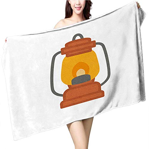 Youdeem Custom Patterned Bath Towel,Cute Thanksgiving Bunting Flags with Letters in Traditional colors3 Velour Beach Towel Size:39.4 x 19.7 INCH -