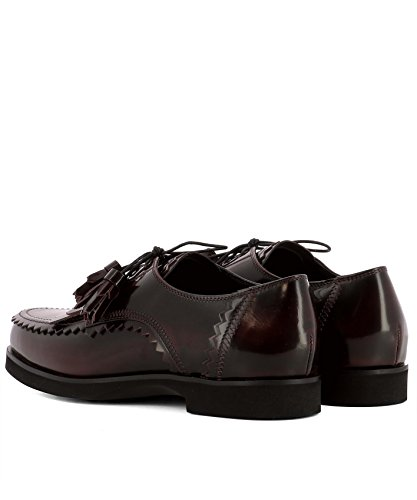 Tod's Lace Shoes Burgundy Women's Xxw0zq0v950aktr802 up Leather vOxvwTSCqy