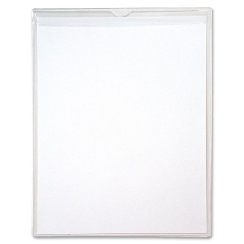 Anglers Sturdi-Kleer Vinyl Envelope with Flap - Letter - 8.5 x 11 - 10 / Pack - Clear by Anglers Products