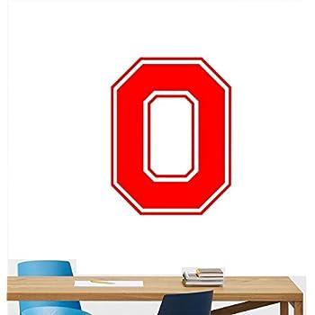Amazon Com Ncaa Wall Decal Sticker Ohio State Block O Football