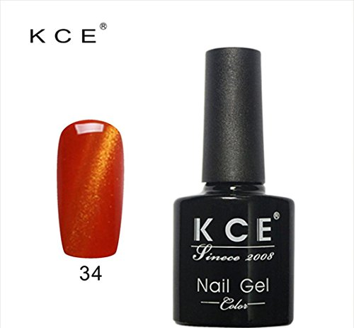 OMfeng UV glue Nail Polish Manicure LED Cats Eye color dark color 12ml (P) - Glitter Nail Polish Essie