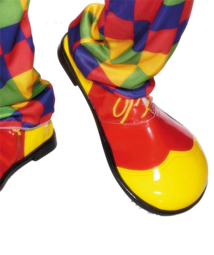 Smiffy's Men's Clown Shoes Deluxe