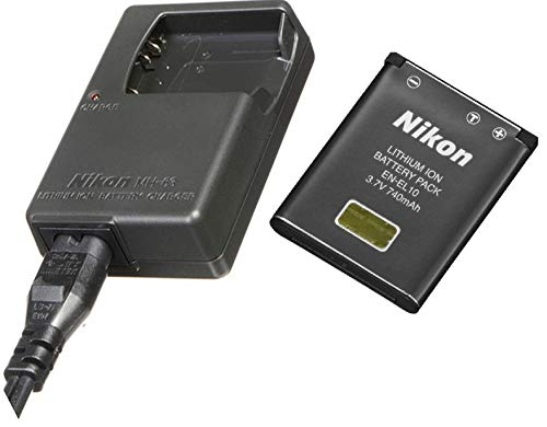 Nikon Replacement EN-EL10 Lithium-ion Battery & MH-63 Charger for Nikon Coolpix Digital Cameras (Discontinued by Manufacturer)