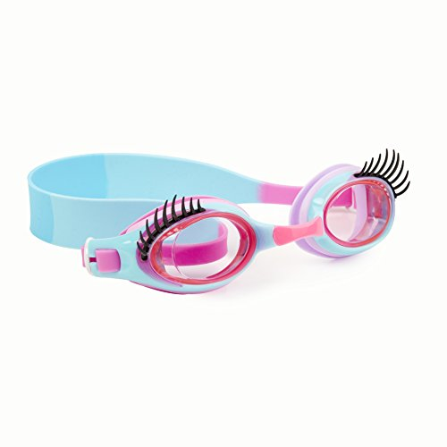 Round Anti Fog Goggles with Hard Case Bling 2O Kids Swim Goggles by Bling2O Summer Shaved Ice Design