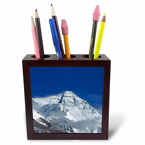 - 3dRose ph_73702_1 Snowy Summit of Mt. Everest, Tibet, China-AS07 KSU1324-Keren Su-Tile Pen Holder, 5-Inch