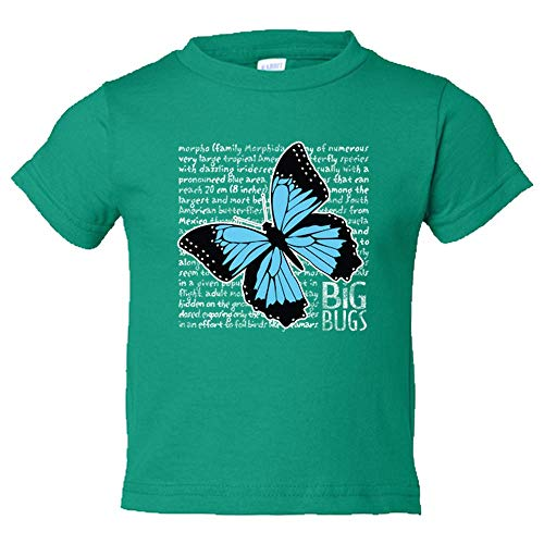 Custom Toddler Big Bugs Butterfly T-Shirt, Toddler Big Bugs Butterfly T-Shirt -