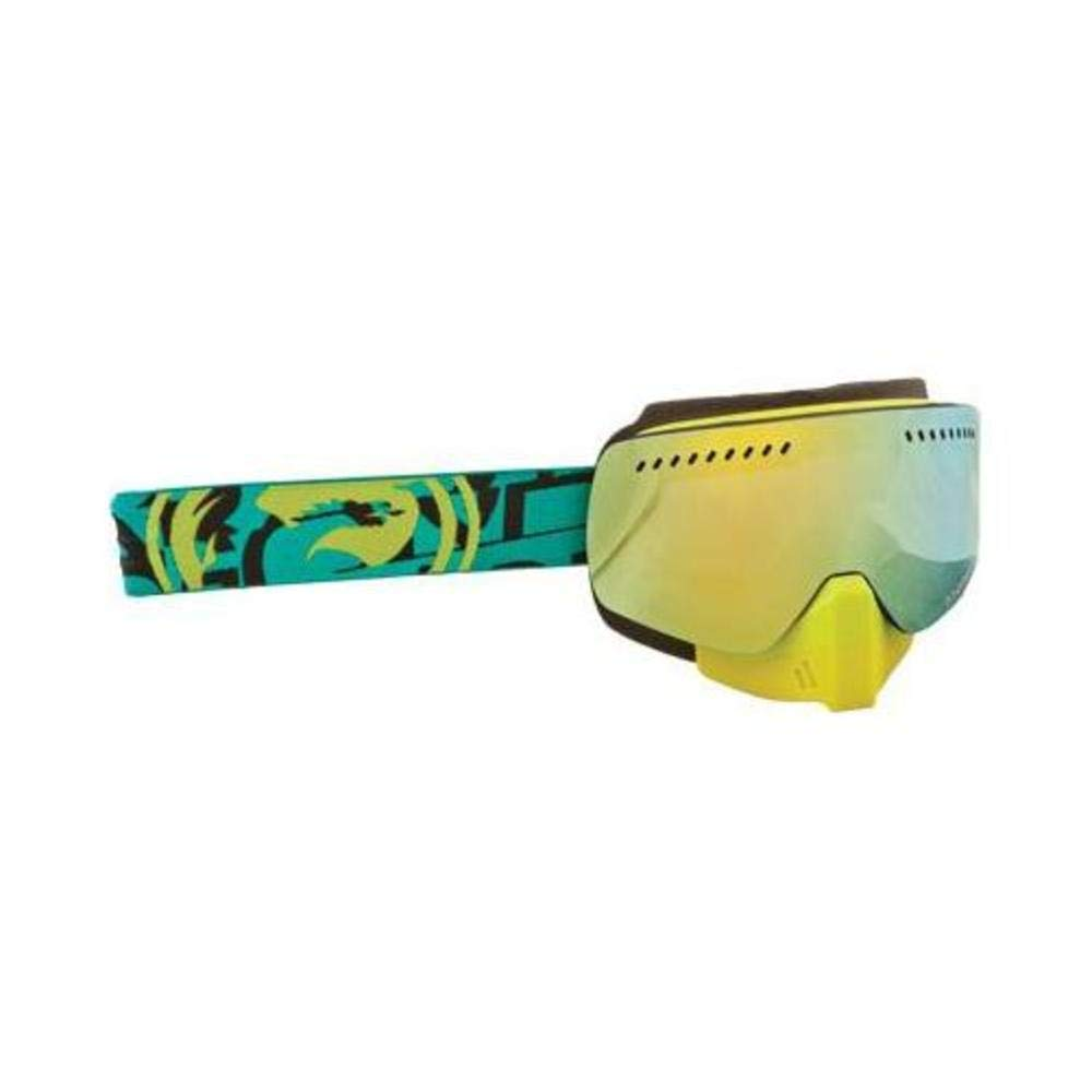 One Size Dragon Alliance Unisex Cast NFXS Snowmobile Goggles Eyewear Gold Smoke