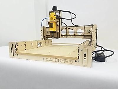 BobsCNC E3 CNC Router Engraver Kit with DeWalt DW660 Router (450mm x 390mm x 85mm)