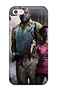 New Super Strong Left 4 Dead 2 Characters Tpu Case Cover For Iphone 5/5s