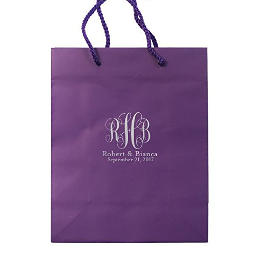 Personalized Wedding Welcome Bag, Out of Town Guest Bag, Destination Wedding, Custom Printed tote 29